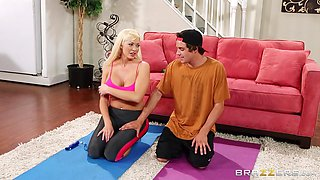 Workout Turns Sexual With A Blowjob