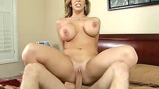 Horny Milf Sara Jay Fucks One Of Her Son's Best Friends