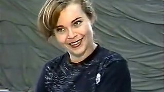 Christine Dupree vs Tina Antman wrestling