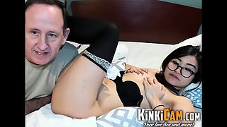 Japanese Gets Fucked By Old Man - KinkiCam.com