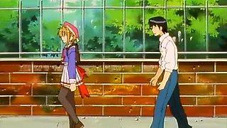 Hentai Girl Gets Morning Boner From Her Partner