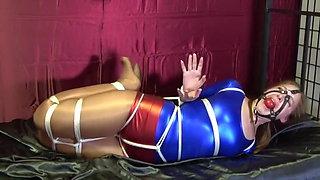 Rachel Adams Superheroine Bondage