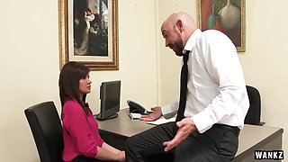 WANKZ- Sexy Office Assistant Fucks Her Boss