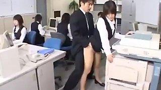 Cute Asian Secretary Fucked part3