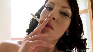 Smoking strap on