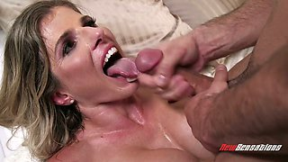 American horny story with a gorgeous bootyful MILF Cory Chase