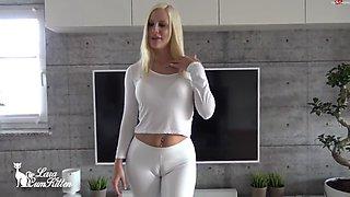 lara-cumkitten - bubble butt reiten mit der latex bitch