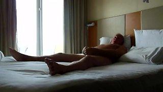 daddy sex wife in hidden cam in bed room morning.