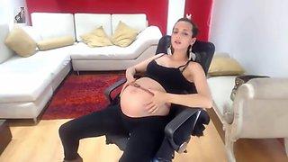 Pregnant labor embarazada caliente
