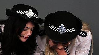 Cfnm police domina mocks