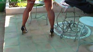 Nylons in outdoor