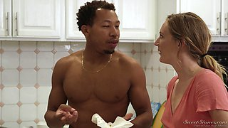 Alexis Fawx and her friends have to decide who gets the black guy