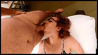 Full blowjob date with crossdresser Kimberly Sin