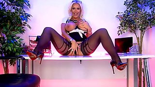 S66 lucy zara stockings , heels and tits