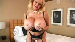 Kayla Kleevage masturbating in sexy lingerie