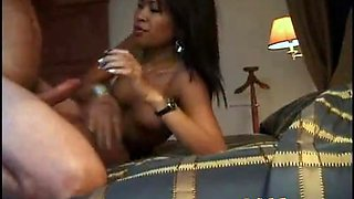 Horny Filipina slut eagerly sucks and fucks a foreigner inside a cheap motel
