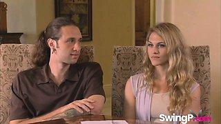 Swingers enjoy having orgy in reality show