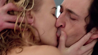 First nude scenes for beautiful aussie actress (softcore)