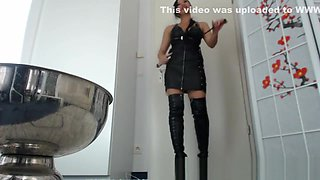 Asian mistress pornbabetyra savage humiliation and domination