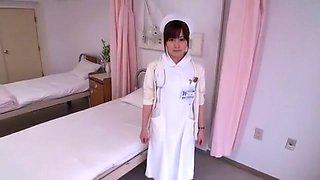 Exotic Japanese chick Hirono Imai in Amazing Nurse, Stockings JAV clip