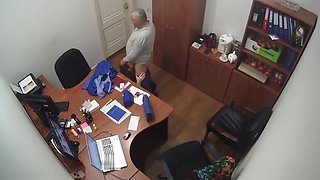 Office Secretary BlowJob Russian
