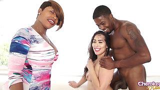 Alycia Starr & Isaiah Big Booty Sex Cherokee D'Ass XXX