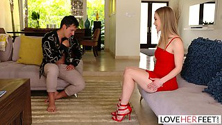 LoveHerFeet - Diana Grace Has The Perfect Feet